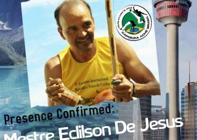 Presence confirmed Mestre Eclilson